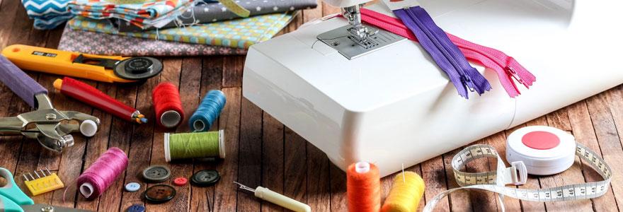 Achat de matériel de couture