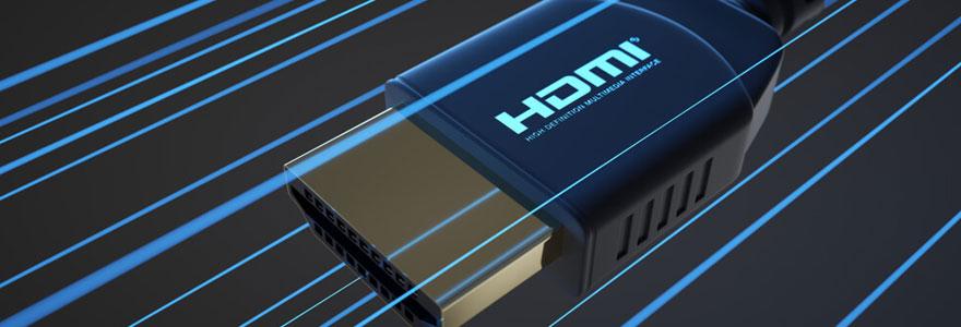 Acheter le câble hdmi adapté en ligne