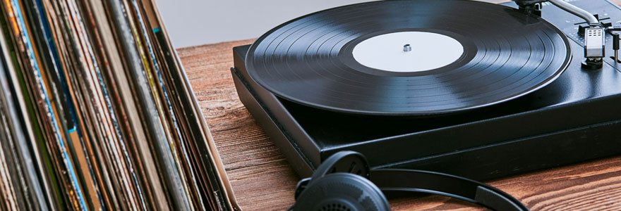 des vinyles