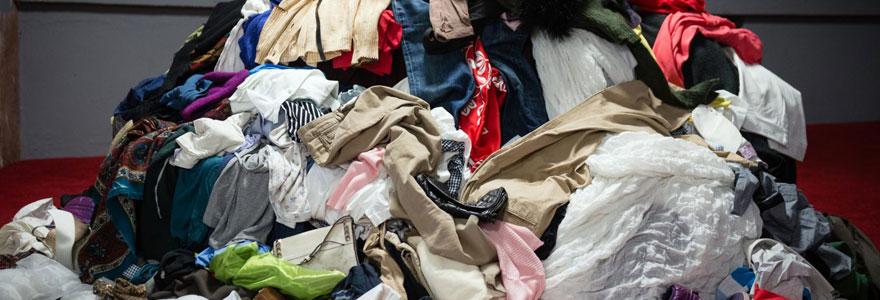 Recyclages des tissus usagés