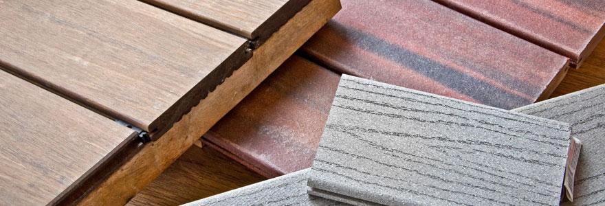 revêtement du bois extérieur