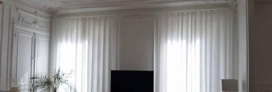 rideau grande hauteur
